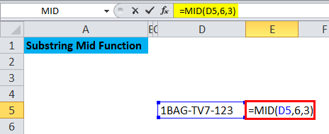 Substring Mid Function 3