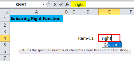 Substring Right Function 2