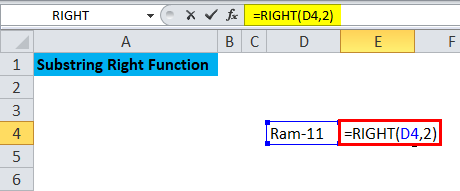 Substring Right Function 4