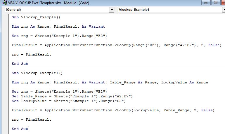 VBA VLOOKUP in Excel | How to Write VLOOKUP Code in VBA?