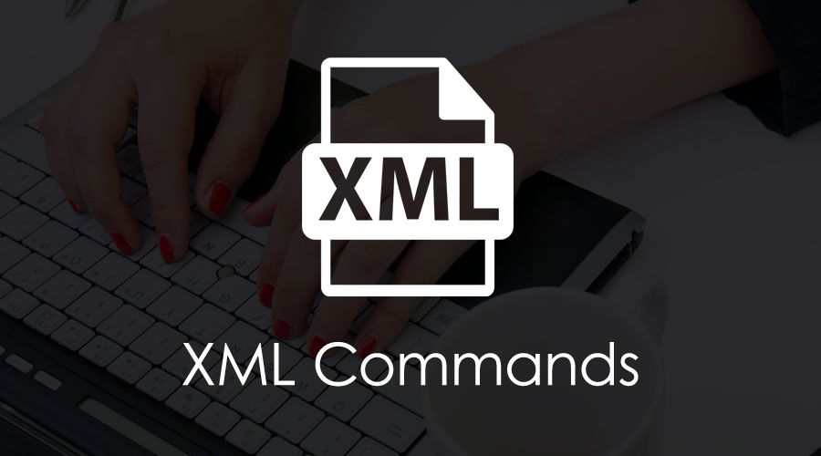 xml commands