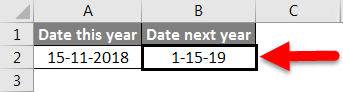 AMD in Excel example 1-5