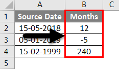 AMD in Excel example 2-3