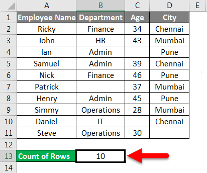 Adding Months to Dates in Excel example 5-3