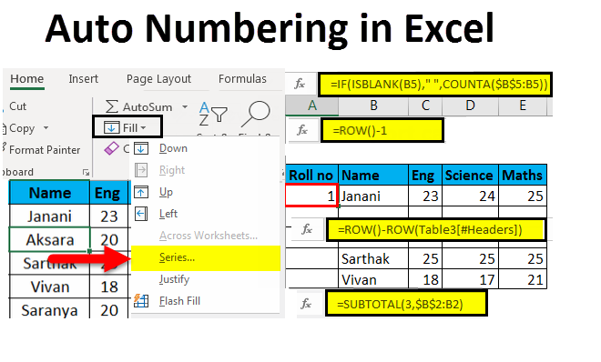 Autonumbering-in-Excel-example
