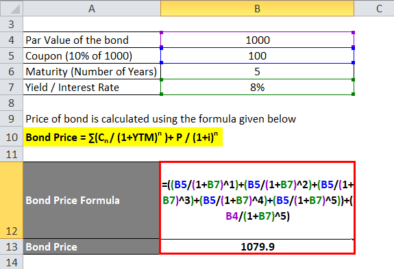 Bond Price example 1-2