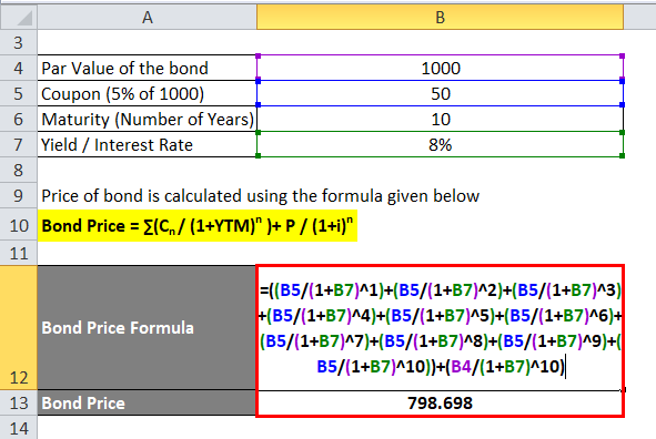 Bond Price example 2-2