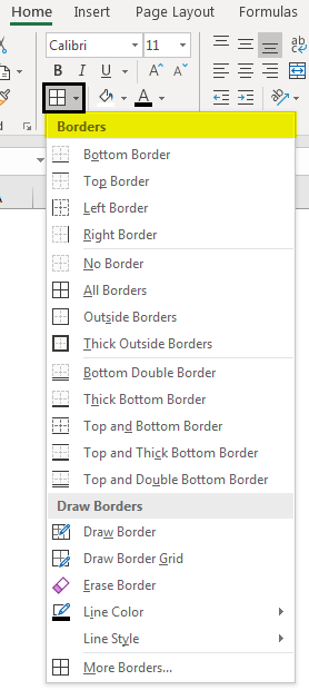 List of Borders