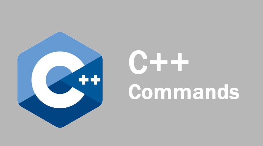 C++ Commands