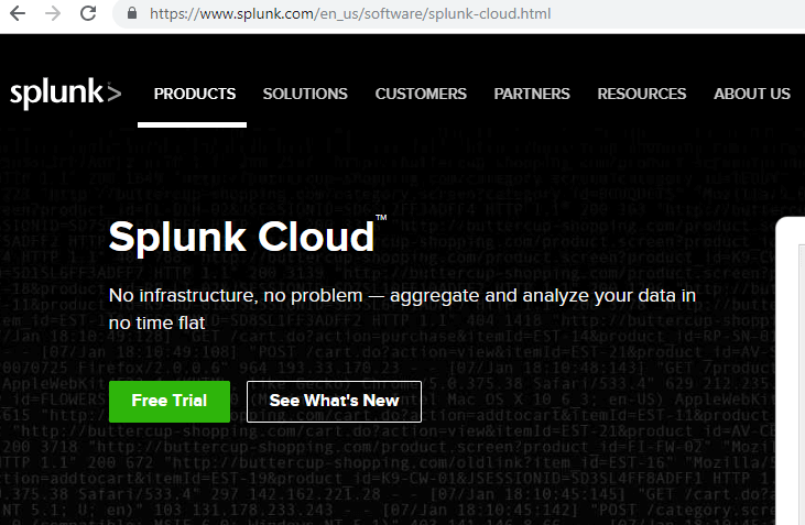 Splunk Cloud Installation 1