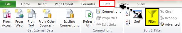 Excel Column Filter