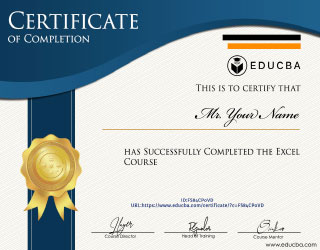 Excel Course 1