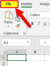 Excel OneDrive Step 1-1