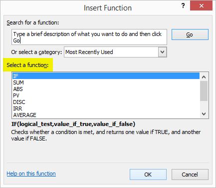 Formula bar example 1.6