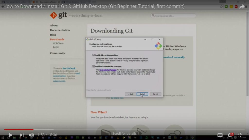 Install Github | Step by Step Installation Of Github On Windows