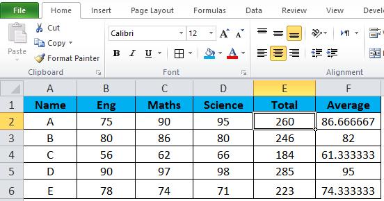 Hide formula in MS-Excel 2-14