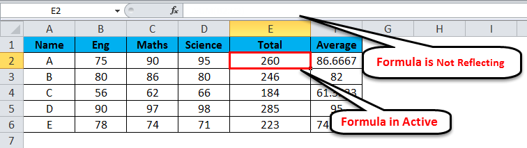 Hide formula in MS-Excel 2-6