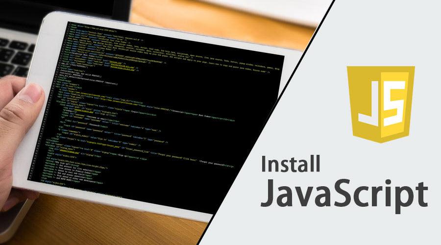 Install javascript