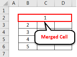 Merged Cell 1