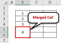 Merge Cell