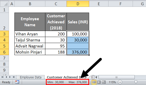 Status Bar in Excel | How to Customize Excel Status Bar?