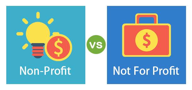 Non-Profit vs Not For Profit