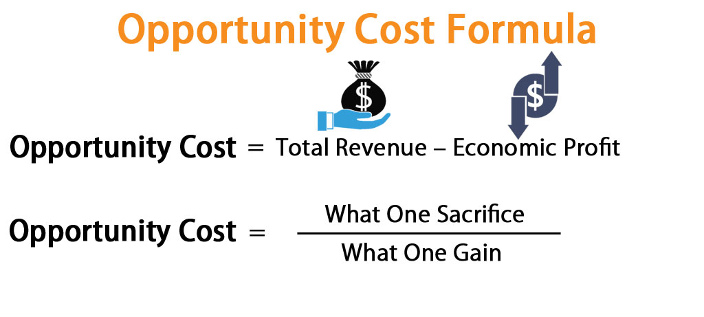Opportunity Cost Formula | Calculator (Excel template)