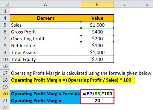 Profitability Ratios Example 1-3