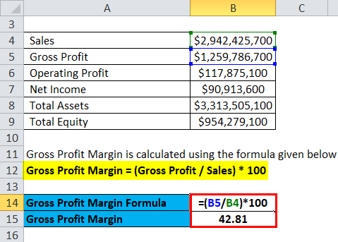 Profitability Ratios Example 2-2