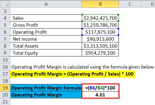 Profitability Ratios Example 2-3