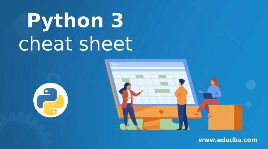 Python 3 cheat sheet