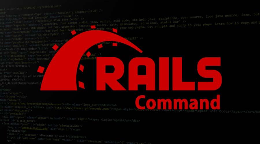 Rails Command