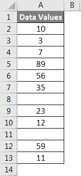 Row count example 3-1