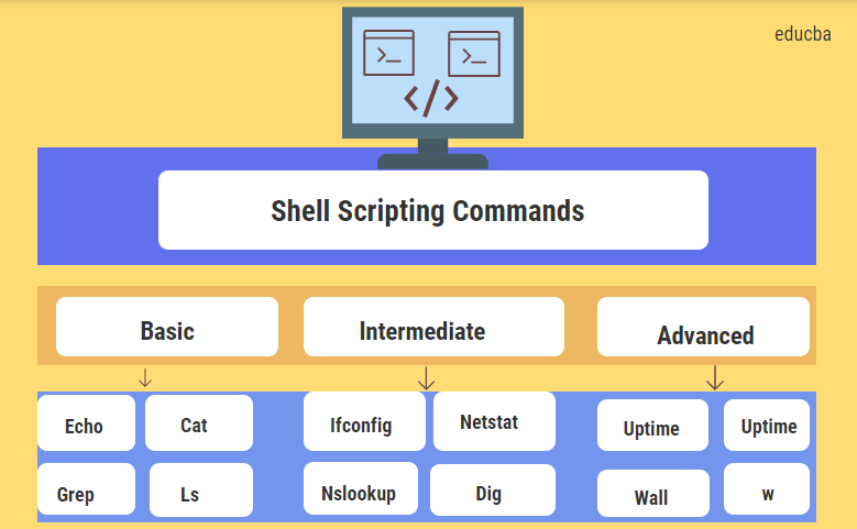 Shell Scripting Commands