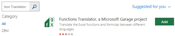Translate in Excel 1-8