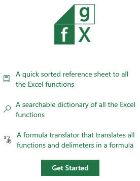 Translate in Excel 1-9