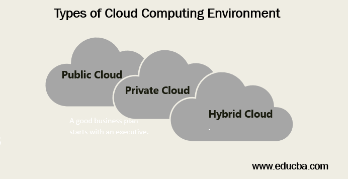 Types of Cloud Computing Environment