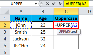 Uppercase Example 2-2