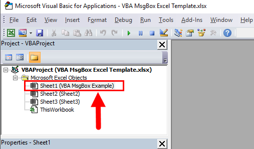 VBA Editor Window