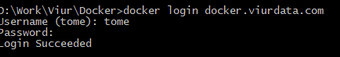 Docker Login Command