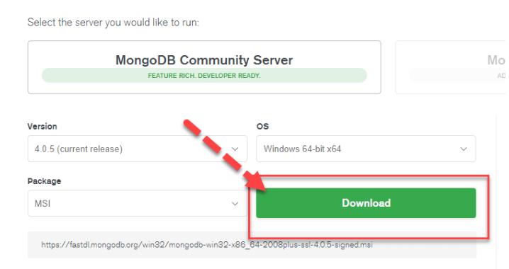 install mongodb.1