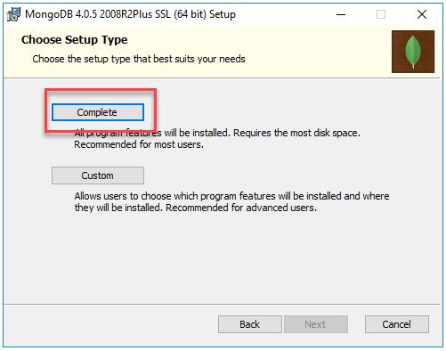 install mongodb.4