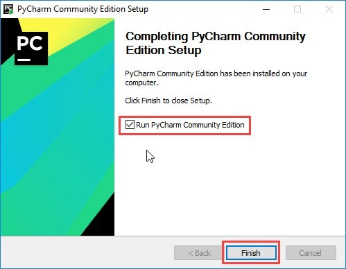 Run PyCharm Community Edition