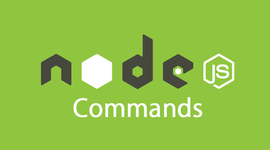 node js commands