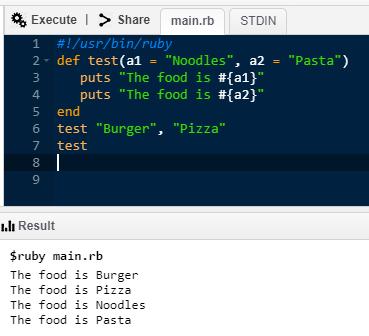 Method syntax