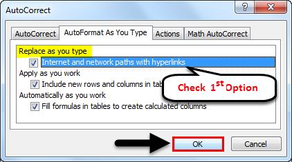 AutoCorrect example 2-4
