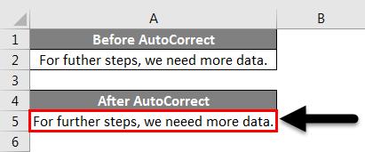 AutoCorrect example 1-7