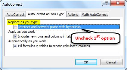 AutoCorrect example 2-2