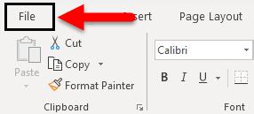 Autosave in Excel example 1-1