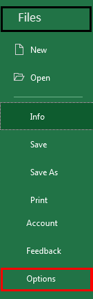 Autosave in Excel example 1-2